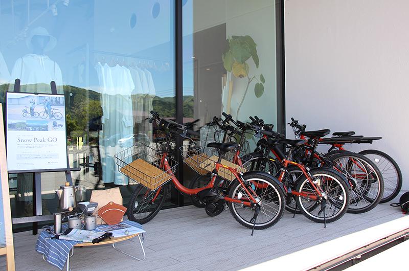 電動自転車のレンタル