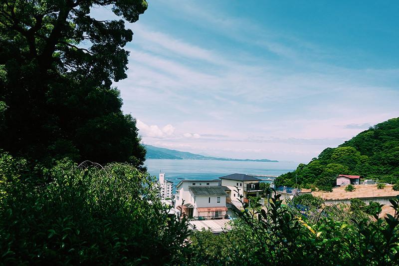 和田木神社からの眺望