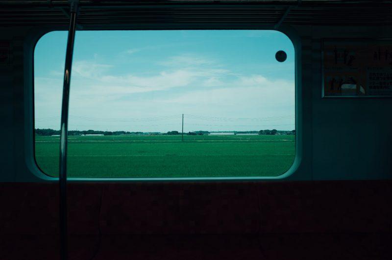 村上駅周辺の車窓