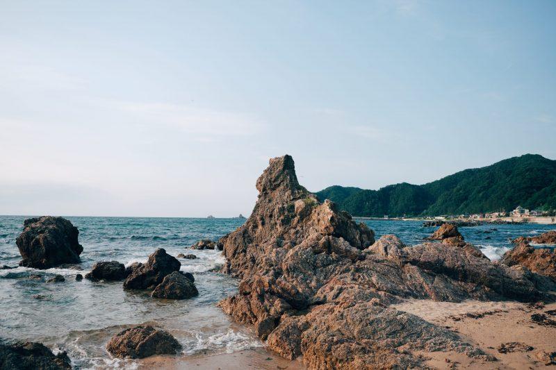笹川流れ 海辺