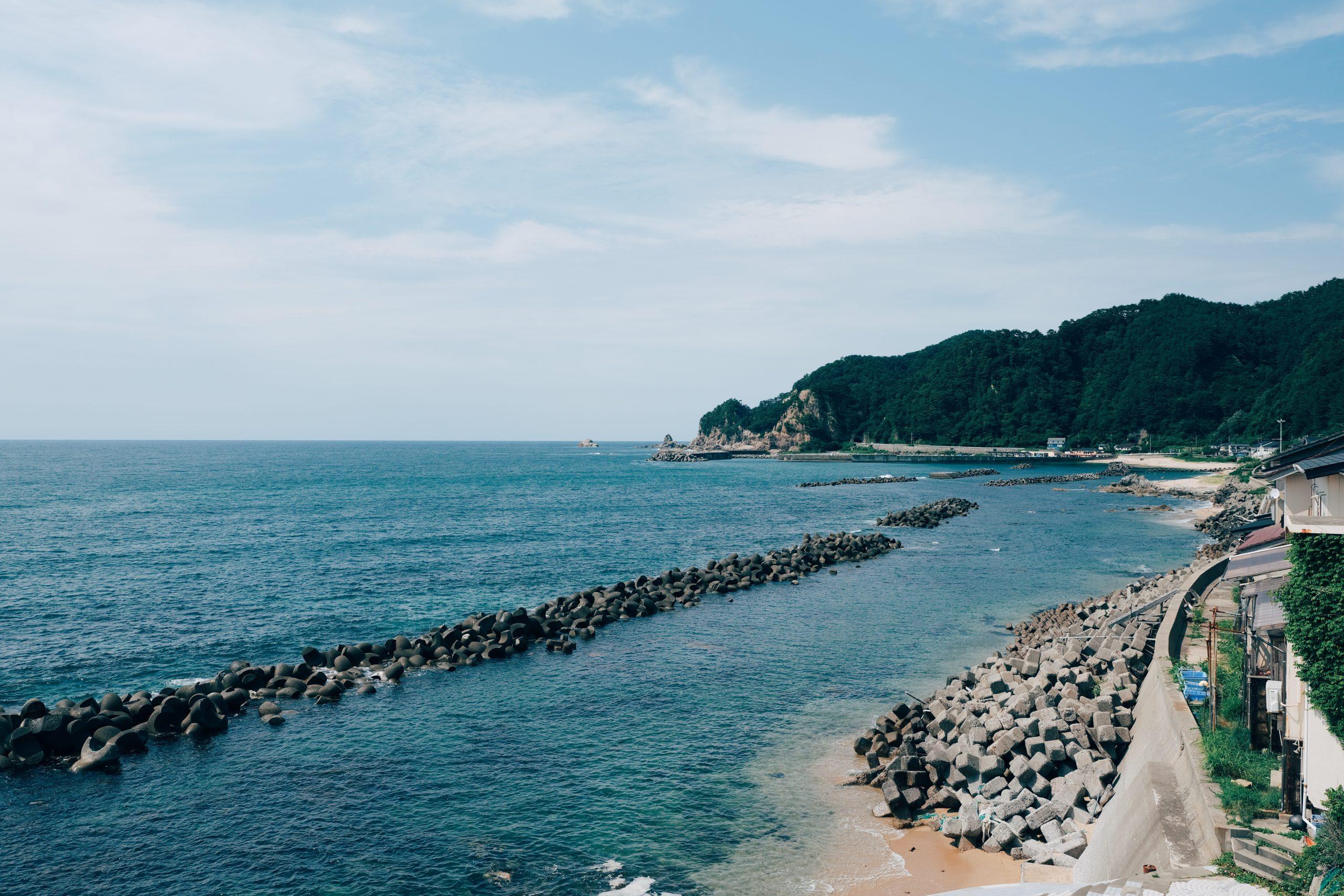 夏は新潟の絶景へ【名勝・笹川流れ】遊覧船で海からの景色を堪能