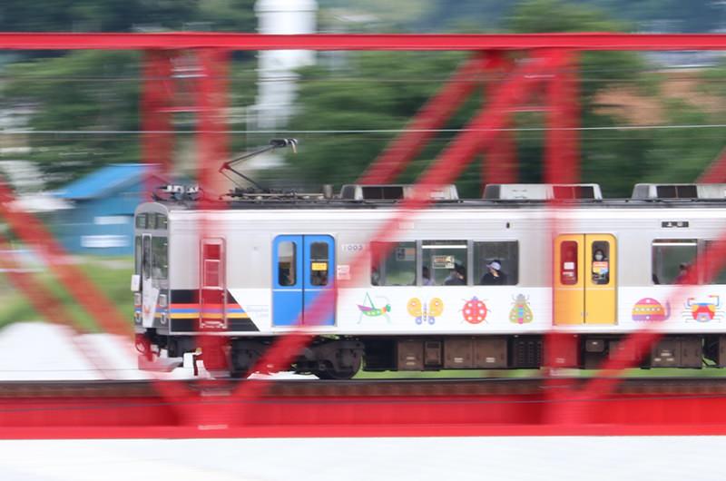 【長野・列車旅】別所線の赤い橋・千曲川橋梁と廃線跡を巡る